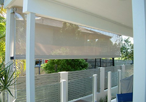 Straight Drop Wire Guide Awnings